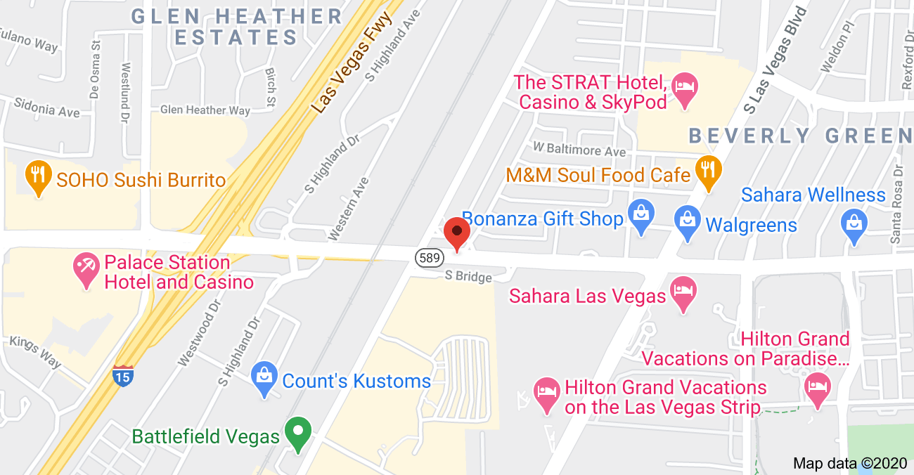 Vegas Map